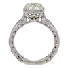 1.99 ct. Round Cut Bridal Set Tacori Ring, M, SI1 #4