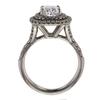 1.40 ct. Cushion Cut Bridal Set Ring #2