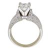 1.24 ct. Princess Cut Bridal Set Ring, E, VS2 #4