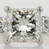 2.16 ct. Princess Cut 3 Stone Ring #1