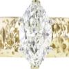 2.27 ct. Marquise Cut Bridal Set Ring, K, SI2 #4