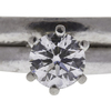 0.6 ct. Round Cut Solitaire Ring, E, VS1 #4
