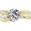 1.22 ct. Round Cut Solitaire Ring #1
