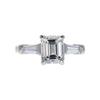 2.39 ct. Emerald Cut 3 Stone Ring, H, VVS2 #3