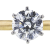 1.10 ct. Round Cut Solitaire Ring, H, SI2 #4