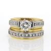 .99 ct. Round Cut Bridal Set Ring #4