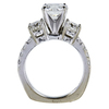 1.50 ct. Round Cut 3 Stone Ring, G, SI1 #2