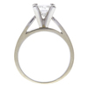 0.9 ct. Princess Cut Solitaire Ring, G-H, SI2 #2