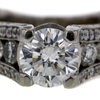 2.06 ct. Round Cut Solitaire Ring #1