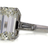 3.39 ct. Emerald Cut 3 Stone Ring #2