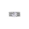 2.22 ct. Round Cut Bridal Set Ring, E, SI1 #2