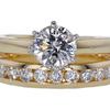 1.01 ct. Round Cut Bridal Set Ring #1