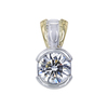 1.02 ct. Round Cut Pendant Necklace, I, VS1 #2