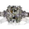 4.02 ct. Radiant Cut Solitaire Ring #1