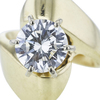 2.02 ct. Round Cut Solitaire Ring, I, SI2 #4