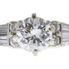 0.85 ct. Round Cut Bridal Set Ring, I, I1 #3
