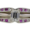1.01 ct. Emerald Cut Solitaire Ring #1