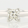 .81 ct. Princess Cut Solitaire Ring #1