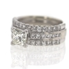 .86 ct. Princess Cut Bridal Set Ring #2