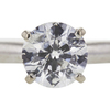 1.04 ct. Round Cut Bridal Set Ring, G-H, I2 #1