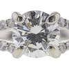 0.82 ct. Round Cut Solitaire Ring, E, SI1 #4