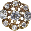 European Cut Central Cluster Ring, I-J, VS2-SI1 #1