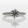 1.04 ct. Round Cut Solitaire Tiffany & Co. Ring #4