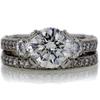 2.07 ct. Round Cut Bridal Set Ring #4