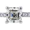 1.06 ct. Asscher Cut Solitaire Ring, J, VVS2 #4
