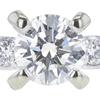 1.02 ct. Round Cut Bridal Set Ring, K, SI2 #4