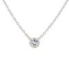 0.7 ct. Round Cut Pendant Necklace, G, SI1 #3