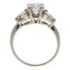 1.21 ct. Round Cut Bridal Set Ring, G, I1 #3