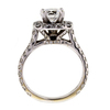 1.24 ct. Round Cut Halo Ring #4