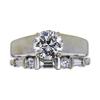 1.15 ct. Round Cut Bridal Set Ring, K, SI2 #3