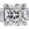 1.06 ct. Princess Cut Bridal Set Tiffany & Co. Ring, I, VVS2 #4