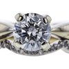 1.13 ct. Round Cut Bridal Set Ring, I-J, SI1 #1