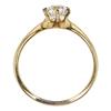 0.91 ct. European Cut Solitaire Ring, J-K, VS1-VS2 #2