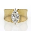 1.36 ct. Marquise Cut Bridal Set Ring #1