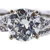 1.54 ct. Round Cut Bridal Set Ring, G, SI2 #4