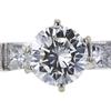 0.85 ct. Round Cut Bridal Set Ring, J, VS2 #4