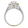 0.7 ct. Round Cut Bridal Set Ring, H, SI1 #4