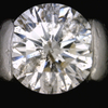 1.10 ct. Round Cut Bridal Set Ring #4