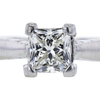 0.95 ct. Princess Cut Bridal Set Ring, I-J, VS1-VS2 #1
