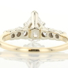 0.87 ct. Pear Cut Ring #4