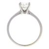 1.0 ct. Round Cut Solitaire Ring, J, I1 #4
