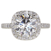 2.3 ct. Round Cut Solitaire Ring, I, VS2 #1