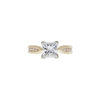 1.55 ct. Princess Cut Solitaire Ring, G, I1 #3
