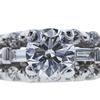 0.70 ct. Round Cut Bridal Set Ring, E-F, SI2 #1