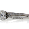1.21 ct. Round Cut Bridal Set Ring #4