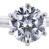 1.61 ct. Round Cut Bridal Set Ring, E, VS1 #4
